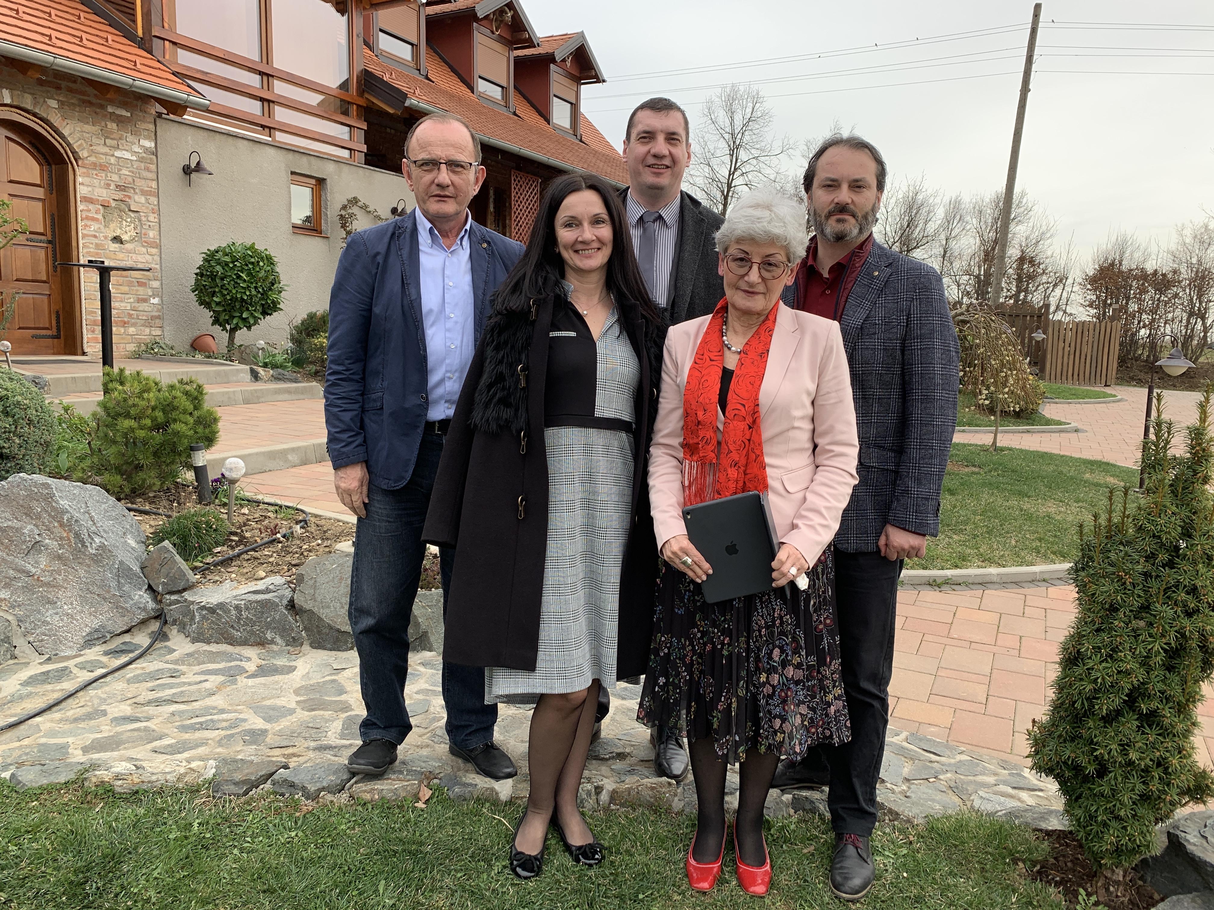 BiH and Croatian delegations met in Starci Village, Croatia