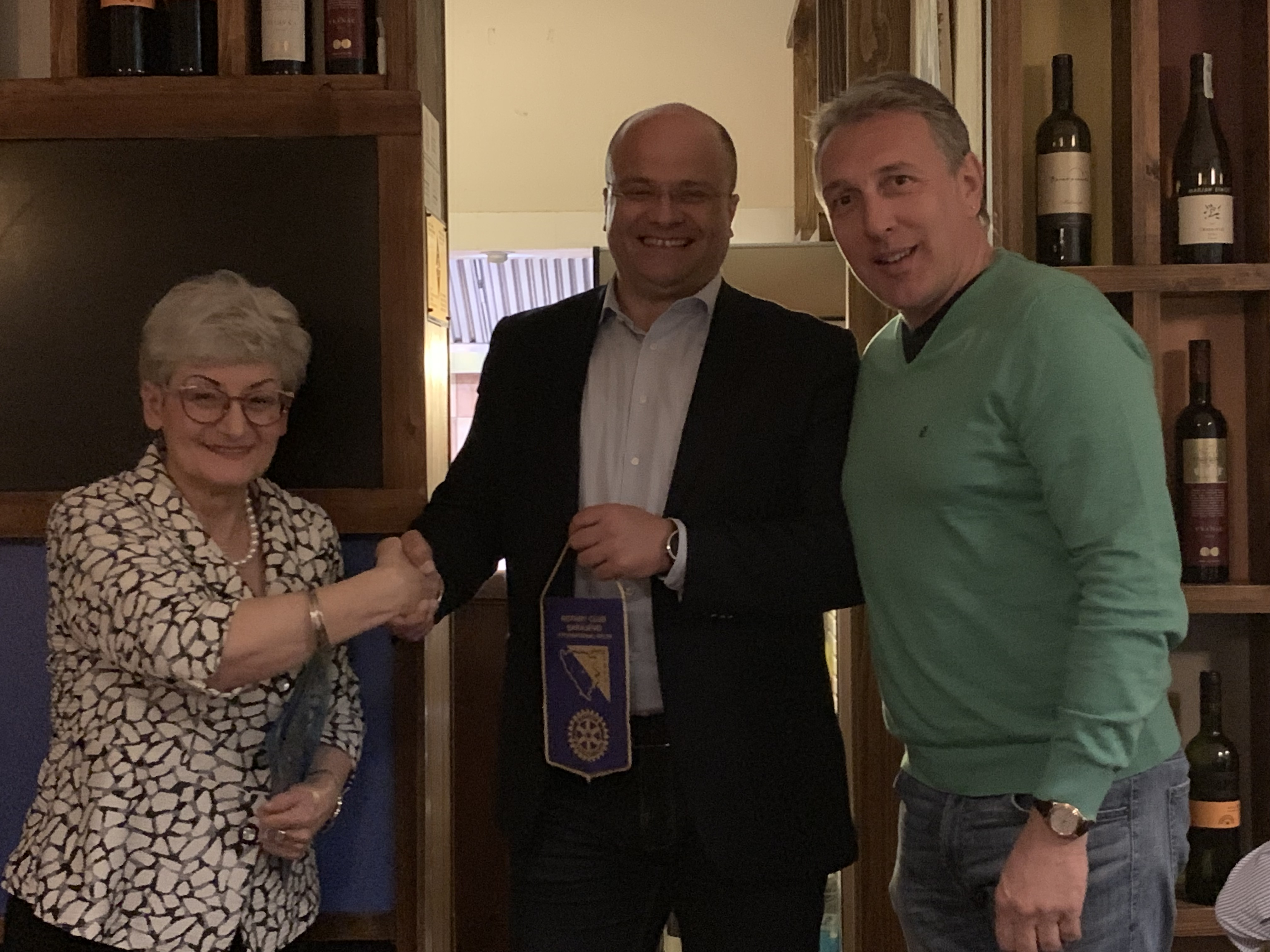 We are happy to welcome three new members to our club. Dubravka Piotrovski, Benjamina Londrc and Admir Drinic are very enthusiastic, dedicated, and passionate tobreathe new life into our club.