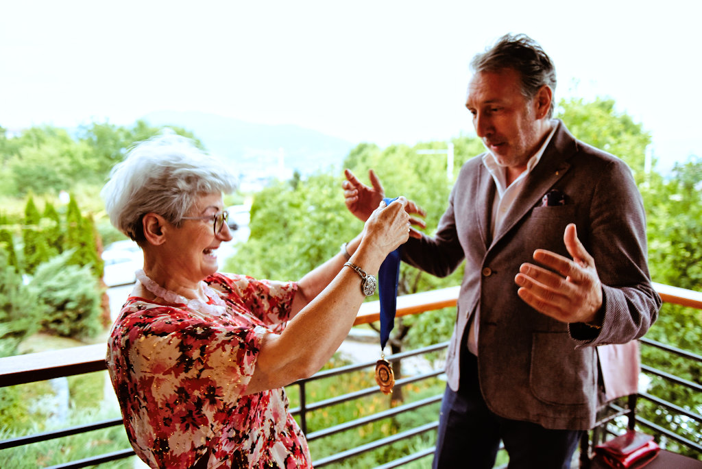 After a successful year of leading the Rotary Club Sarajevo