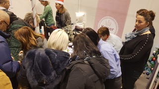 """RCSID continued supporting the Association """" Little Women's Corner"""" for the second year in the row on the annual Diplomatic Winter Bazaar"""